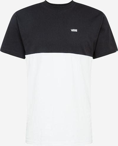VANS Shirt 'MN COLORBLOCK TEE' in de kleur Zwart / Wit, Productweergave
