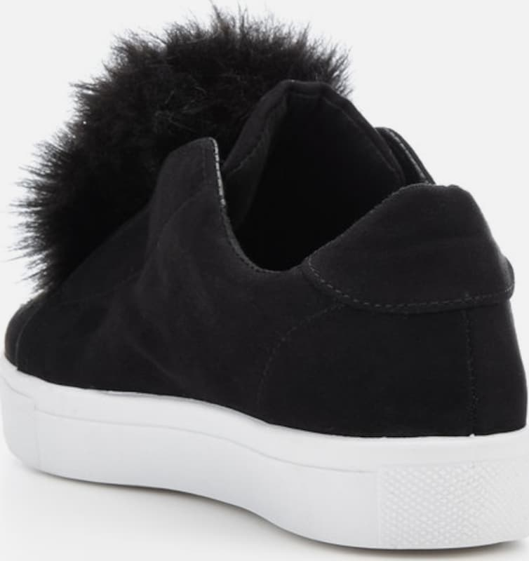 Bianco Pompon-Sneaker