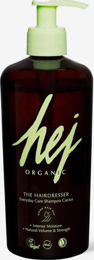 HEJ ORGANIC Haarshampoo 'The hairdresser' in braun / hellgrün, Produktansicht