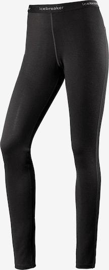 szürke / fekete Icebreaker Sport alsónadrágok '200 Oasis', Termék nézet
