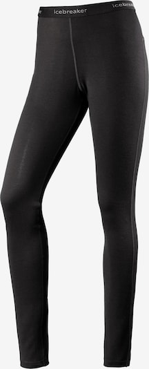 Icebreaker Sportunterhose '200 Oasis' in grau / schwarz, Produktansicht