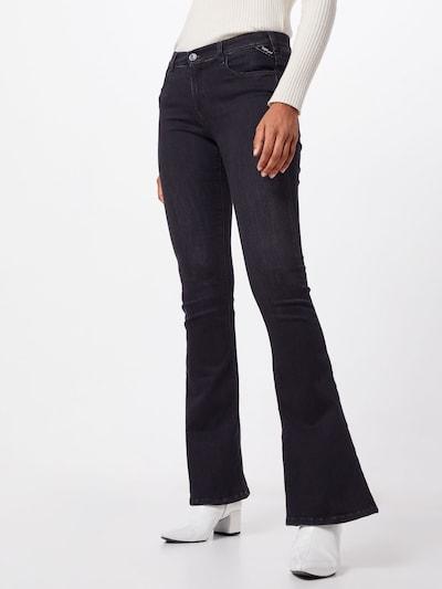 REPLAY Jeans 'STELLA FLARE' in schwarz, Modelansicht