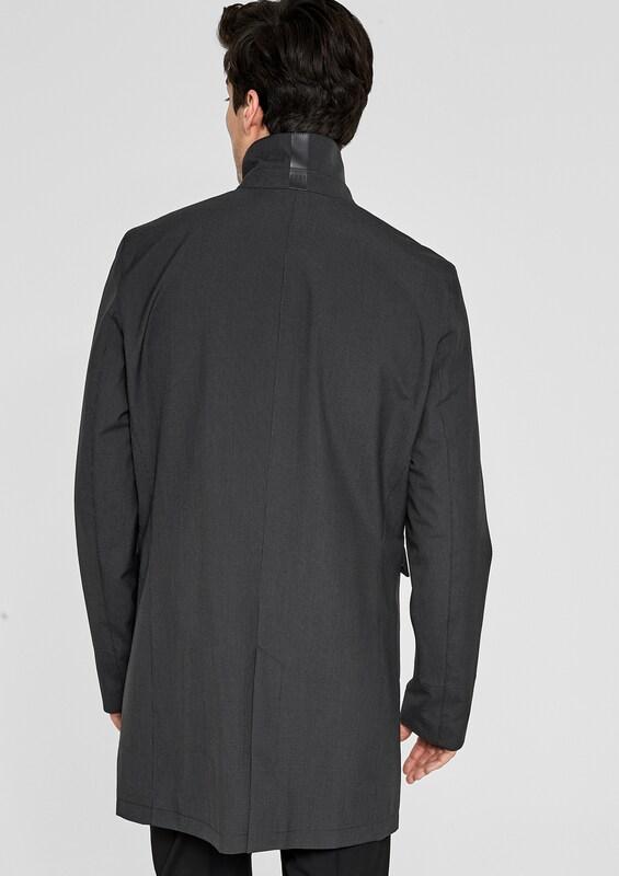 s.Oliver BLACK LABEL Leichter Mantel mit Stehkragen