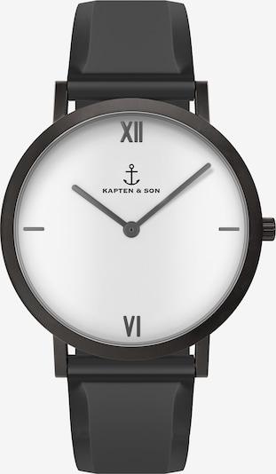 Kapten & Son Analoguhr 'Pure Lux' in schwarz, Produktansicht