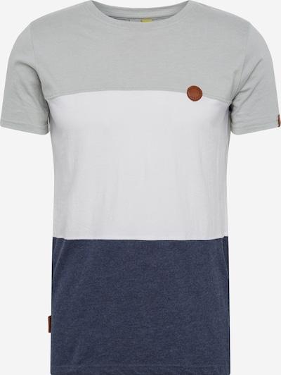 Alife and Kickin T-Shirt ' Ben ' in blau / grau / weiß, Produktansicht