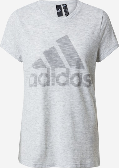 ADIDAS PERFORMANCE T-Shirt in hellgrau, Produktansicht