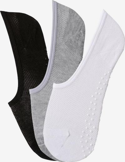 LASCANA ACTIVE Sportsokken in de kleur Grijs gemêleerd / Zwart / Wit, Productweergave