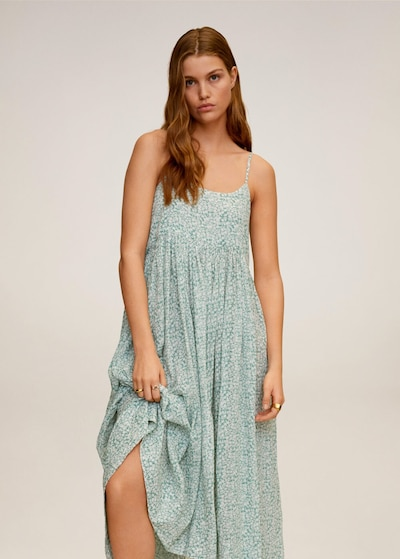 MANGO Letní šaty 'Orange' - opálová / mix barev, Model/ka