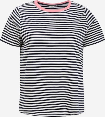 MY TRUE ME T-Shirt in blau / pfirsich / weiß, Produktansicht