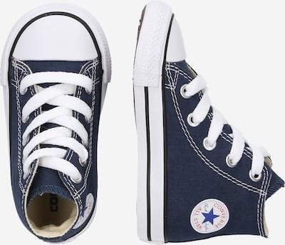 CONVERSE Sneakers 'Chuck Taylor All Star' in de kleur Donkerblauw / Wit: Zijaanzicht