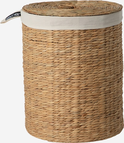 ABOUT YOU Wäschekorb 'Nature Essence' (42 L x 42 B x 55 H) in beige, Produktansicht