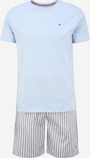Tommy Hilfiger Underwear Pyjama court en bleu / gris clair, Vue avec produit