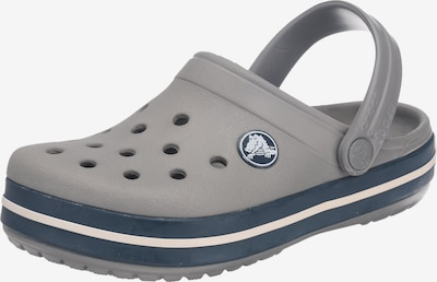 Crocs Clogs 'Crocband' in grau: Frontalansicht