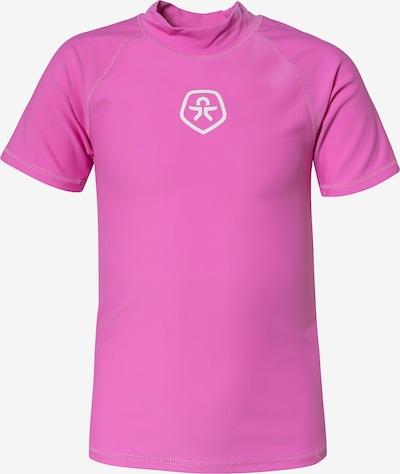 COLOR KIDS Schwimmshirt 'Timon' in pink / weiß, Produktansicht