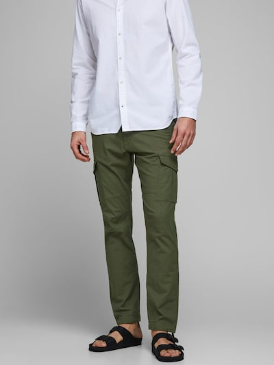 JACK & JONES Cargohose 'Rob AKM 906 ' in khaki, Modelansicht