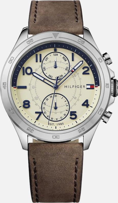 Tommy Hilfiger Multifunktionsuhr Casual Sport, 1791344