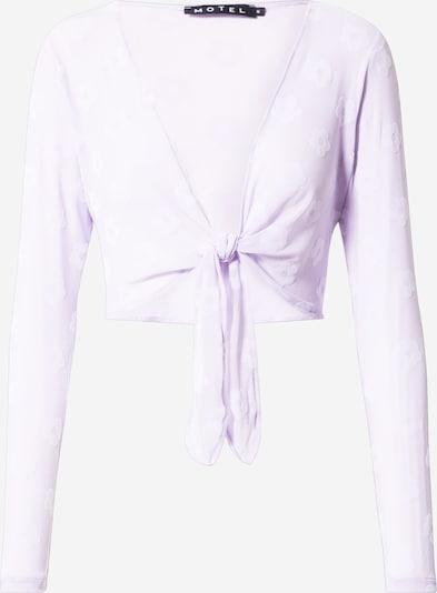 Motel Majica | sivka / bela barva, Prikaz izdelka
