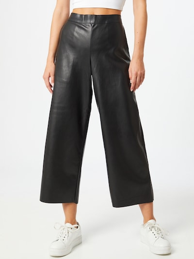 VILA Pantalon 'VIPEN RWRX' en noir, Vue avec modèle