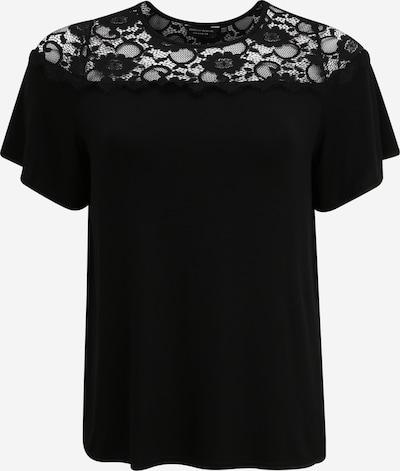 Dorothy Perkins Curve Tričko 'Victorianna' - čierna: Pohľad spredu