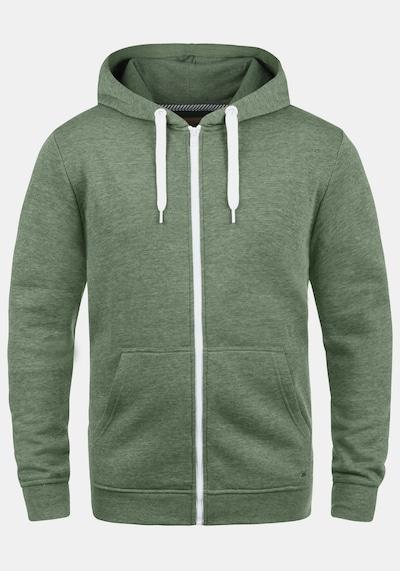 !Solid Kapuzensweatjacke 'Olli ZipHood' in grün, Produktansicht