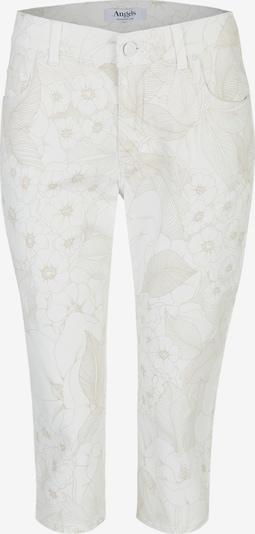 Angels Jeans in beige / naturweiß: Frontalansicht