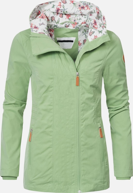 Peak Time Outdoorjacke 'L60018' in apfel / mischfarben, Produktansicht