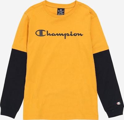 Champion Authentic Athletic Apparel T-Shirt en ocre / noir, Vue avec produit
