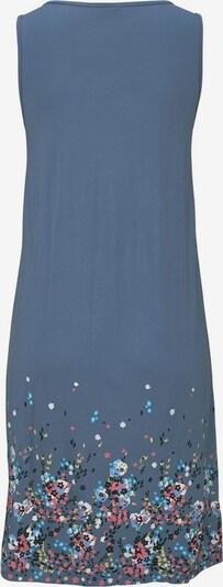 BEACH TIME Plážové šaty - aqua modrá / chladná modrá / červená / černá, Produkt