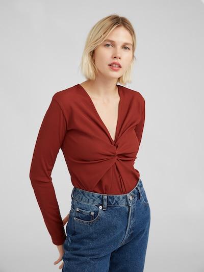 Marškinėliai 'Lanessa' iš EDITED , spalva - rusva: Vaizdas iš priekio