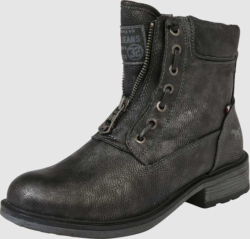 MUSTANG Stiefelie im Leder-Look Kunststoff Wilde Freizeitschuhe