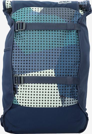 AEVOR Rucksack 'Trip' in navy / pastellblau, Produktansicht