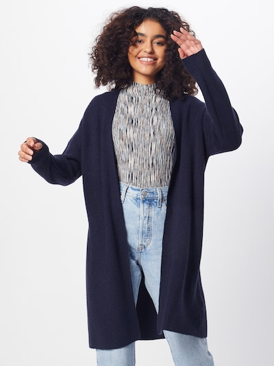 ONLY Strickjacke 'MISCHA' in nachtblau, Modelansicht