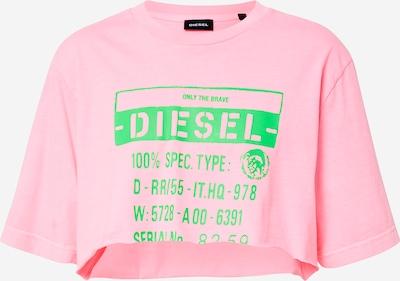 DIESEL T-shirt 'T-Croppy' en rose, Vue avec produit