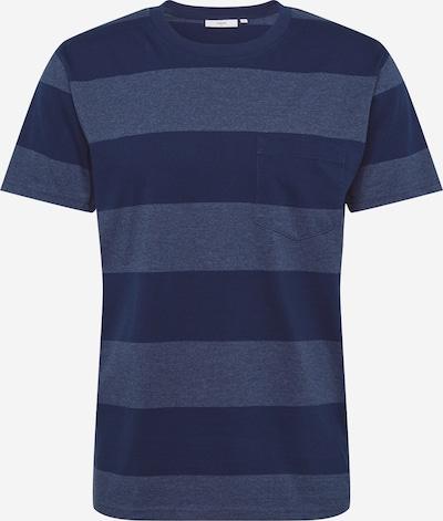 minimum T-Shirt 'Sandro 6790' in taubenblau / dunkelblau, Produktansicht