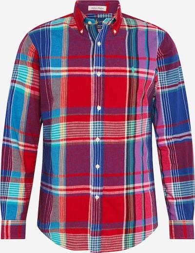 POLO RALPH LAUREN Koszula biznesowa 'CUBDPPCS' w kolorze niebieski / fioletowy / ognisto-czerwonym, Podgląd produktu