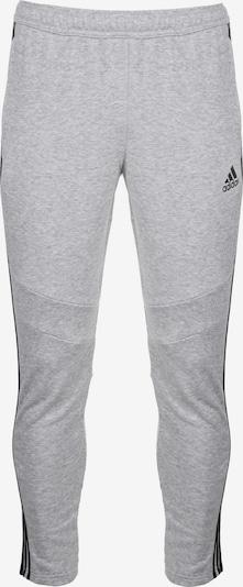 ADIDAS PERFORMANCE Sporthose 'Tiro' in grau / schwarz, Produktansicht