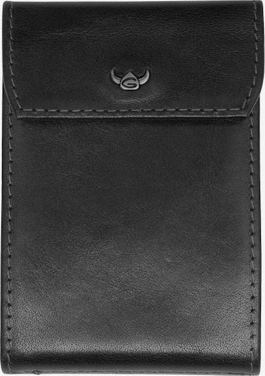 GOLDEN HEAD Kreditkartentui 'Colorado' in schwarz, Produktansicht