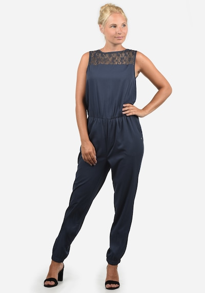 Blend She Jumpsuit 'Amor' in nachtblau, Modelansicht