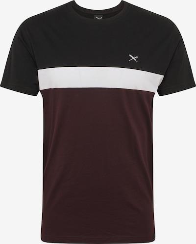 Maglietta Iriedaily di colore rosso vino / nero / bianco, Visualizzazione prodotti