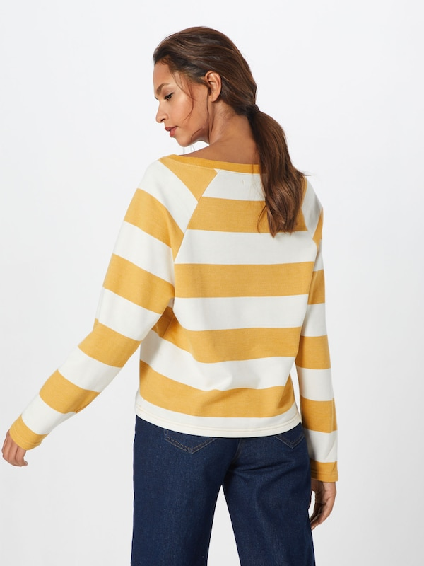 Jaune En Amuse shirt Sweat CitronBlanc 'salt Society Air' e9YWHIb2ED