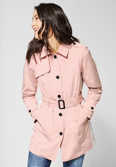 STREET ONE Trenchcoat in pink, Modelansicht