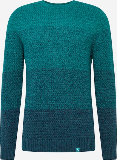 COLOURS & SONS Pullover 'o-neck degrade' in mint, Produktansicht