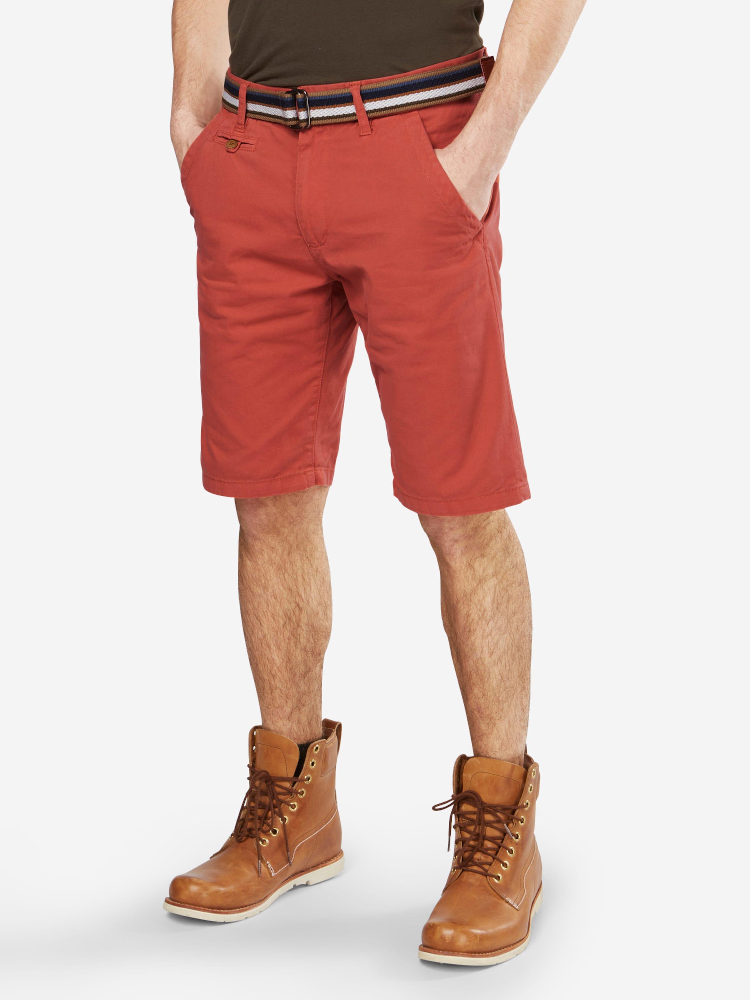 Orangerot Chino Indicode shorts In Jeans 'royce' EI2bD9YWeH