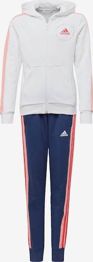 ADIDAS PERFORMANCE Trainingsanzug in blau / weiß, Produktansicht