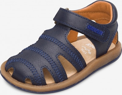 CAMPER Sandalen ' Bicho ' in blau / braun, Produktansicht