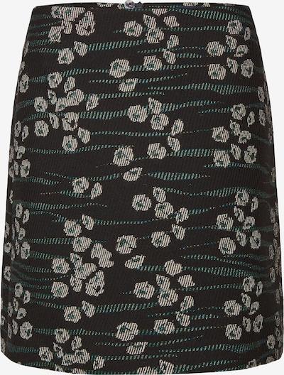 DANIEL HECHTER Skirt in Beige / Petrol / Black / White, Item view