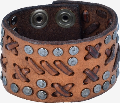 Campomaggi Armband in braun / silber, Produktansicht