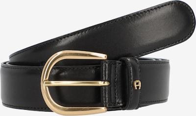 AIGNER Riem in de kleur Goud / Zwart, Productweergave