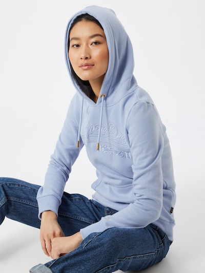 Superdry Hoodie in opal | ABOUT YOU