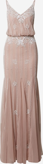 LACE & BEADS Kleid 'Keeva' in nude: Frontalansicht